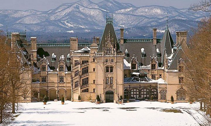 biltmore in snow
