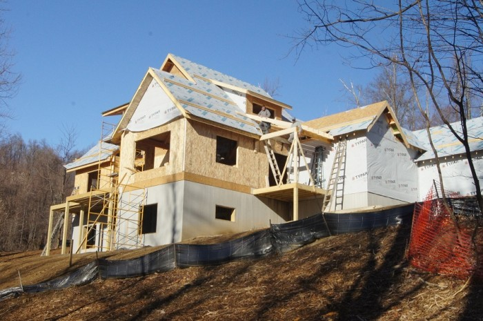 Another home going up at Creston